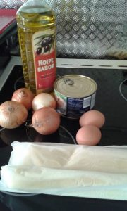 tapas empanada galicienne au thon