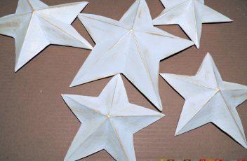 Estrella+papel+maché 6