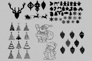 Fichier gratuit Stickers de Noël