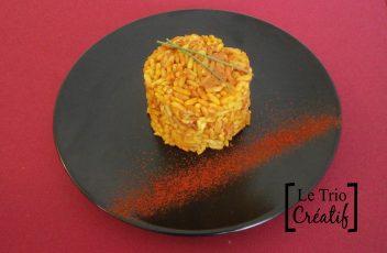 Recette de riz et poulet au curry