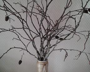 Recycler un pot en verre décore avec de la corde ou ficelle