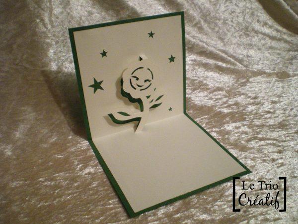 Gabarit Carte Fleur En Kirigami Le Trio Créatif