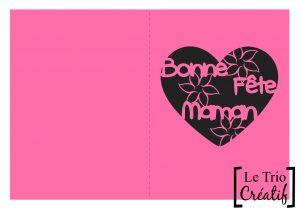 carte pour la fête des mères