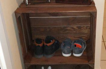 tuto fabriquer une étagère à chaussures